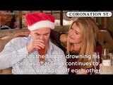 Coronation Street: Tim kisses Gina and Jenny falls down stairs (Soap Scoop Week 51)