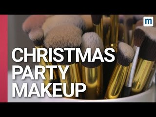 Quick and Easy Christmas Party Make Up