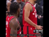 """Traitor"" chants from Spurs crowd affect Kawhi Leonard at the freethrow line during Raptors vs Spurs 1/3/18"