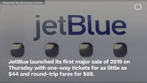JetBlue Is Selling $44 One-Way Tickets For 2 Days Only
