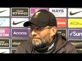 Manchester City 2-1 Liverpool - Jurgen Klopp Full Post Match Press Conference - Premier League
