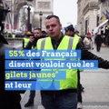 """""""Gilets jaunes"""": une majorité de Français souhaite que le mouvement se poursuive"""