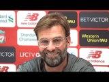 Jurgen Klopp Full Pre-Match Press Conference - Manchester City v Liverpool - Premier League