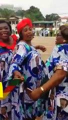 Les femmes du RDPC chantent : « Paul Biya a arrêté le penalty de Maurice Kamto, Paul Biya meilleur gardien »