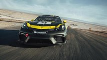 Neuer Porsche 718 Cayman GT4 Clubsport mit Biofaser-Karosserieteilen