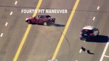 Course-poursuite infernale : un homme échappe à la police pendant plusieurs heures