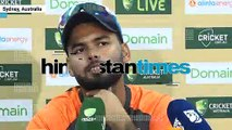 Rishabh Pant's witty reply after meeting Paine's wife, kids