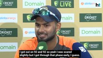 Rishabh Pant says every 100 is special but performing for team is important