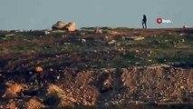 - YPG'li teröristlerin hendek nöbeti    - YPG'li teröristler nöbet tutarken görüntülendi