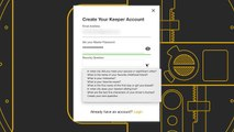 Keep your data secure with a password manager
