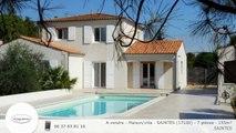 A vendre - Maison/villa - SAINTES (17100) - 7 pièces - 155m²