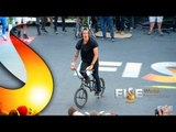 Mathias Dandois - 1st place Qualif BMX Flat Pro - FISE World Montpellier 2013