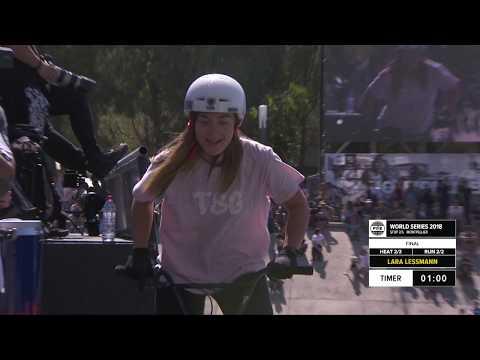 Lara Lessmann | 3rd Final UCI BMX Freestyle Women's World Cup –  FISE World Series Montpellier 2018
