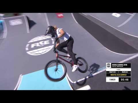 Nikita Ducarroz | 2nd Final UCI BMX Freestyle Women's World Cup – FISE World Series Montpellier 2018