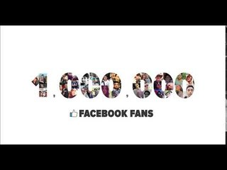 Thanks to our 1,000,000 Facebook Fans