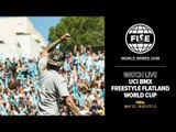 FWS MONTPELLIER 2018: UCI BMX Freestyle Flatland World Cup Final