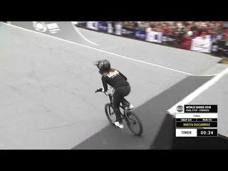 Nikita Ducarroz 3rd place - UCI BMX Freestyle Park World Cup Women | FISE World Series Chengdu 2018