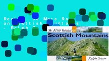 Review  50 More Routes on Scottish Mountains - Ralph Storer