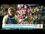 Él hace juguetes artesanales en México con moldes de hace 100 años | Noticias con Zea