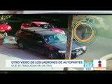 Así operan ladrones de autopartes en la Ciudad de México | Noticias con Francisco Zea