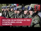 Gobierno federal convoca a mexicanos a integrar la Guardia Nacional