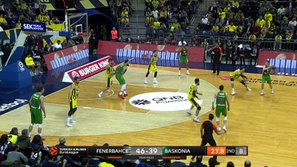 EuroLeague 2018-19 Highlights Regular Season Round 16 video: Fenerbahce 96-87 Baskonia
