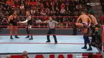 jinder mahal and singh brothers vs rhyno and heath slater tag team match wwe monday night raw december 31 2018