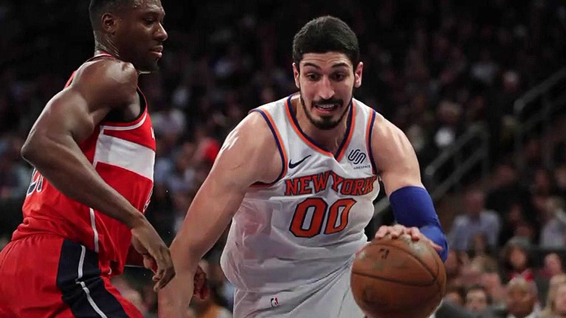 New York Knicks' Enes Kanter Will Skip London Trip Because Of 'Lunatic' Turkish Presi