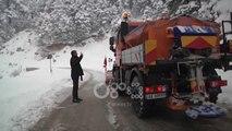 Ora News - Ngrica dhe temperatura të ulëta, ARRSH: Ja rrugët ku duhet të përdoren zinxhirë
