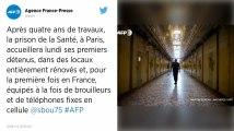 Paris. La prison de la Santé rouvre lundi, avec téléphones fixes et brouilleurs