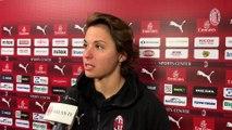 Milan-Pink Bari: le dichiarazioni