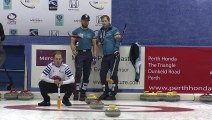 World Curling Tour, Mercure City of Perth Masters 2019, Mellemseter (NOR) vs Muirhead (SCO)