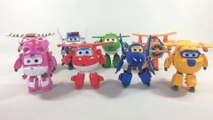 8 Super Wings Transforming Robots Jett Jerome Donnie Dizzy Paul Mira 출동슈퍼윙스   || Keith's Toy Box