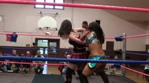 Dark Angel Sarah Stock vs Japanese Girl Yu hi (2013) Womens Pro