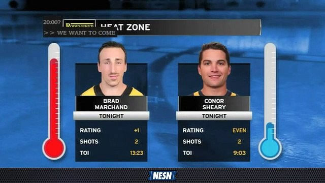 Bruins Breakaway Live: Brad Marchand, Conor Sheary Held Pointless Early In Bruins-Sabres