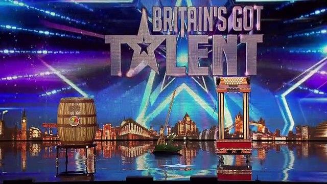 Wacky Magician Does Some Crazy Magic on Britain's Got Talent - Magicians Got Talent