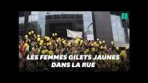 Des centaines de femmes gilets jaunes descendent dans la rue