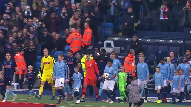 Manchester City put seven past Rotherham in the third round of the FA Cup
