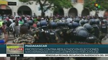 Madagascar: represión contra manifestantes inconformes con elecciones