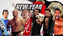 Ryusuke Taguchi, Toru Yano & Togi Makabe Vs Taiji Ishimori, Tanga Loa & Tama Tonga NEVER Openweight Six Man Tag Team Title Match NJPW New Year Dash !! 2019