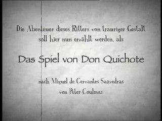 Das Spiel von Don Quichote