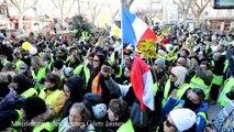Les femmes Gilets jaunes manifestent à Avignon