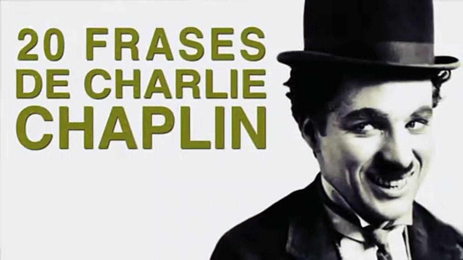 20 Frases De Charlie Chaplin El Gran Cómico Del Séptimo Arte