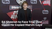 Ed Sheeran Is Going To Trial Over Marvin Gaye Music Copy Allegations