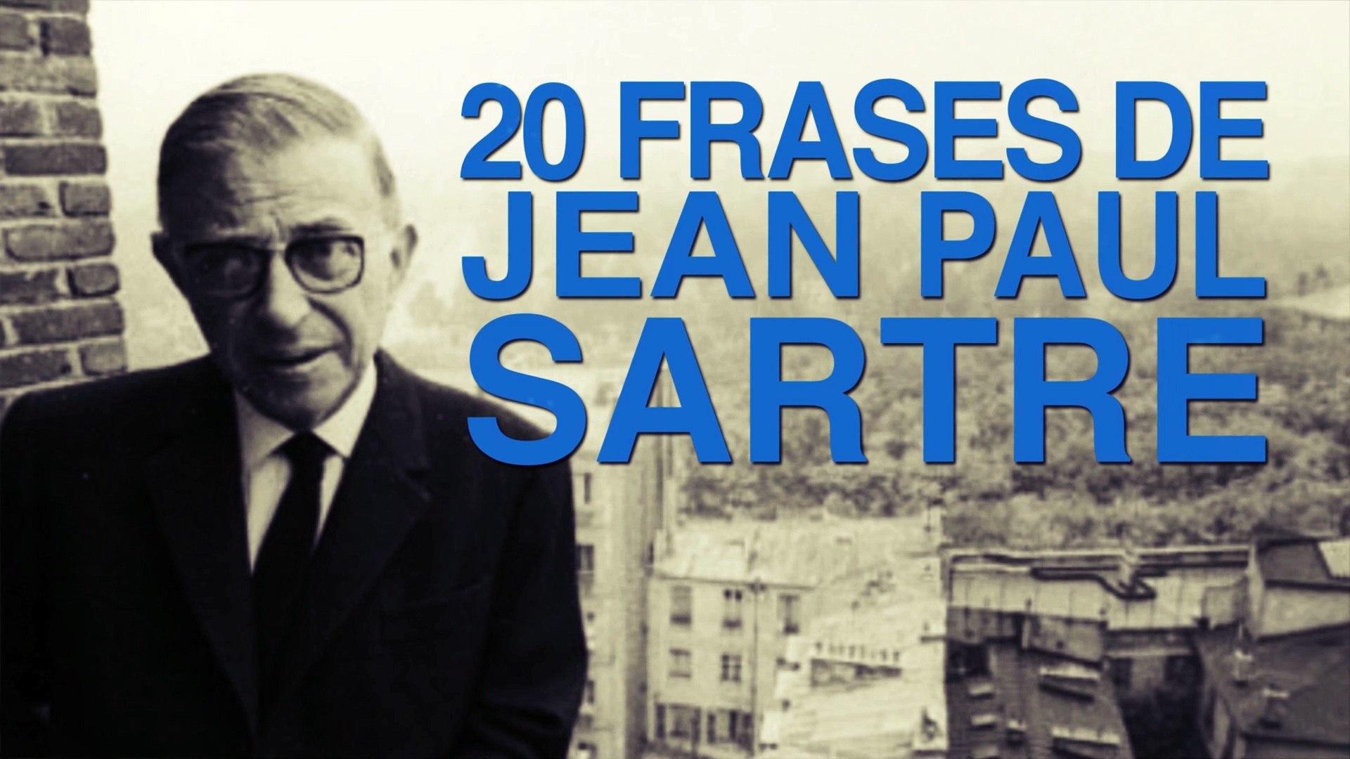 20 Frases De Jean Paul Sartre Y La Filosofía Existencialista