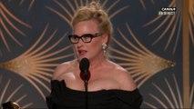 Patricia Arquette obtient le Golden Globe de la meilleure actrice de mini-série - Golden Globes 2019