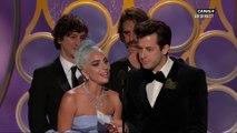 """Lady Gaga & Mark Ranson  avec """"Shallow"""" remportent le Golden Globe de la meilleure chanson originale - Golden Globes 2019"""