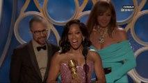 Regina King remporte le prix de la meilleure actrice dans un second rôle - Golden Globes 2019