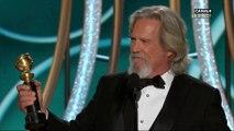 Le discours de Jeff Bridges, qui reçoit le prix Cecil B. Demille 2019 - Golden Globes 2019