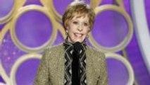 Carol Burnett Honored At 2019 Golden Globe Awards   THR News